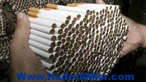 إحباط تهريب 150 طن سجائر