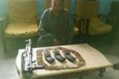 امن اسيوط يضبط 14 قطعه سلاح فى حملة امنية