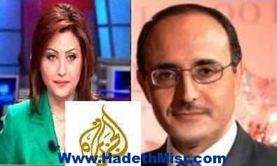 غسان جدو المذيع المستقيل من قناة الجزيرة يفضح قناة الجزيرة على الهواء