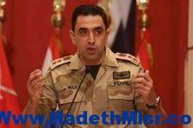 المتحدث العسكري: مقتل 14 «تكفيريًا» بشمال سيناء