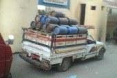 بالصور .. ضبط 3أشخاص بحوزتهم 264 اسطوانة بوتوجاز قبل بيعها في السوق السوداء بسوهاج