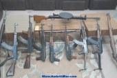 ضبط 3 قطع سلاح ناري و3 أبيض في حملة أمنية بسوهاج