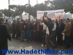 إضراب عمال شركة السويس العالمية للنترات للمطالبة بالزيادة السنوية