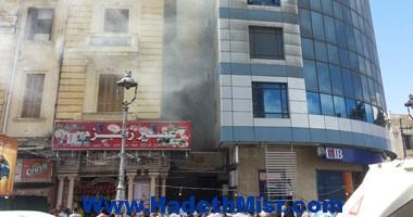 حريق فى شقة بشارع عباس العقاد بمدينة نصر