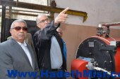 محافظ الإسكندرية يفتتح التطورات الجديدة بالنادى الأوليمبى