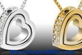 القلب فى الحلى رمز المحبة والأناقة