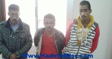 أمن القاهرة يتمكن من ضبط 3 عاطلين يتاجرون فى المخدرات بحلوان