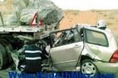 مصرع و إصابة 5 أشخاص فى حادث تصادم بين سيارة ملاكى ونقل ثقيل فى قنا