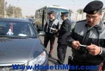 مرور القاهرة: ضبط 169207 مخالفة مرورية بالعاصمة خلال الشهر الماضى