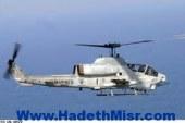طائرات هليكوبتر تحلق بالقرب من المجرى الملاحى بالسويس