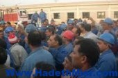 """المتهمون في أحداث قليوب ينشدون النشيد الوطني و يهتفون بقفص الاتهام""""مصر يا أم ولادك أهم"""""""