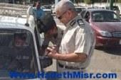 مرور أسيوط تنجح فى ضبط 11800 مخالفة مرورية واستعادة 8 سيارات مهربة جمركيا ومبلغ بسرقتها خلال شهر