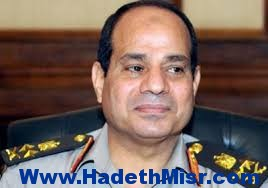 المشير السيسى يلتقى سعد الحريرى بوزارة الدفاع
