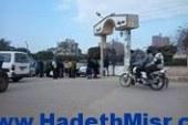 إضراب سائقي ميكروباص قيلن بكفر الشيخ