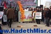 خلال وقفة احتجاجية نقابات العمال: نحذر من كارثة إنسانية واقتصادية داخل قطاع غزة