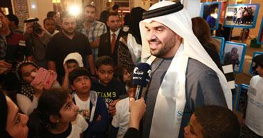 """بالصور.. الجسمى يدعم """"القلب الكبير"""" لإغاثة الأطفال اللاجئين السوريين"""