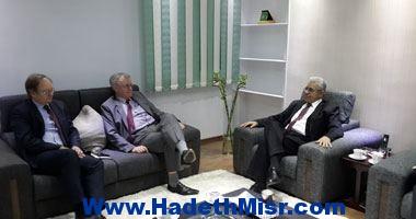 حمدين صباحى لوفد أوروبى: الجيش المصرى شريك فى بناء الدولة الحديثة