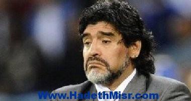 """مارادونا يُناشد """"يويفا"""" لفصل النزاع مع مصلحة الضرائب الإيطالية"""