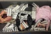 ضبط 4 عاطلين بحوزتهما بانجو و أقراص مخدرة بالغردقة