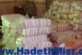 ضبط شخص لإدراته مركز تعبئة أرز غير مرخص وبحوزته 7 ونصف طن بسوهاج