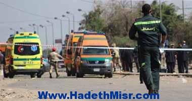 استشهاد ضابط شرطة أثناء محاولة القبض على انتحارى بتفجير الكنيسة المرقسية بالإسكندرية