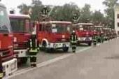 """12 سيارة إطفاء للسيطرة على حريق بمصنع """" جرين لاند """" بالعاشر"""