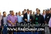 بالصور .. جولات تفقدية لمحافظ البحر الأحمر و وزير الإسكان بمدن جنوب المحافظة
