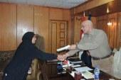 مدير أمن سوهاج يُكرم أمهات شهداء الشرطة