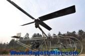 """مزارع صينى يصنع هليكوبتر """"توك توك"""" قادرة على الارتفاع 40 سم"""