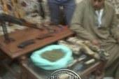 مباحث ديروط باسيوط تضبط 4 قطع سلاح و5 كيلو بانجو فى حملة أمنية