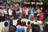القليوبية – طلاب جامعة بنها يتنفضون ضد حكم العسكر (مصور)
