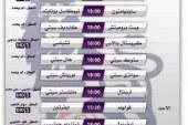 جدول مباريات دوري_الانجليزي الجولة الـ 32 { القنوات الناقلة + المعلقين