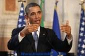 أوباما يدعو روسيا لسحب قواتها من حدود أوكرانيا