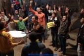 """""""عفاريت شبين ضد الانقلاب"""" يحتفلون بخروج حمزة الخولي"""