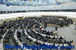 مندوب مصر الدائم لدي الأمم المتحده يشدد علي موقف مصر الداعم للشعب السوري خلال كلمته أمام مجلس الأمم المتحده لحقوق الإنسان