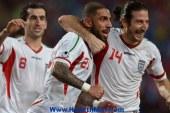 إيران تهزم الكويت في مباراة هامشية فى تصفيأت كأس آسيا تغلب منتخب إيران على ضيفه الكويتي 3-2 اليوم الإثنين في الجولة السادسة الأخيرة من منافسات المجموعة الثانية لتصفيات كأس آسيا المقررة عام 2015 في أستراليا.