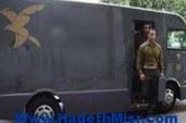"""عاجل :اصابة """"4"""" أفراد شرطة خلال تأمينهم لسيارة نقل أموال بالفيوم"""