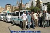 سائقو النقل الثقيل بالبحر الأحمر ينظمون وقفة إحتجاجية للمطالبة بتفعيل دور جمعية نقل الركاب