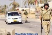 الأمن يداهم البؤار الأرهابية بالشلاق وبئر لحفن والحاجر والطويل والعبور بالعريش
