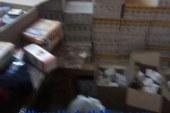 """بالصور …ضبط """"110 """" ألف قرص مخدر وأدوية متنوعة غير مصرح تداولها في صيدلية بأخميم"""