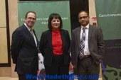 اسكندر/ تشارك فى المؤتمر الختامي لمشروع سبل المعيشة الاقتصادية بالقاهرة