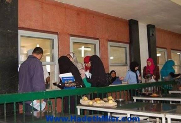 تسليم الوجبات ل11600 طالب وطالبة بمدن الأزهر