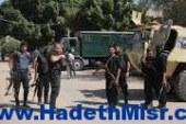 اصابة مجند فى مصادمات بين قوات الامن وطلاب بدلجا