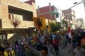 بالصور مظاهرات التحالف الوطني لدعم الشرعية بشبين القناطر عقب صلاةالعصر