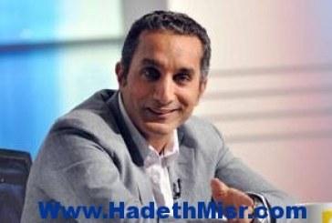 """عمرو أديب لباسم يوسف: """"اتكلم عن مشاكل البلد بدل ما تتريق على الجيش"""""""