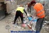 ثعبان يثير الذعر بين عمال النظافة بشبرا الخيمة