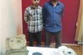 ضبط إثنين من عناصر تنظيم الإخوان الإرهابى لقيامهما بتصنيع القنابل اليدوية وإستخدامها فى التظاهرات بالقاهرة
