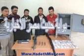 ضبط عصابة سرقت 242 ألف جنيه من محطة بنزين