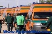 الاسعاف تدفع بــ30 سيارة للتمركز حول مدارس الفيوم