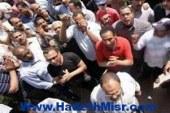وقفة احتجاجية بالعمار بعد مقتل طالب بالمدرسه